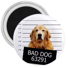 Bad Dog 3  Magnets by Valentinaart