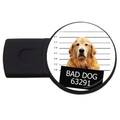 Bad Dog Usb Flash Drive Round (2 Gb) by Valentinaart