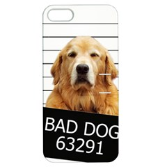 Bad Dog Apple Iphone 5 Hardshell Case With Stand by Valentinaart