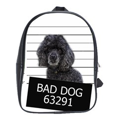 Bad Dog School Bags (xl)  by Valentinaart