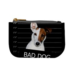 Bad Dog Mini Coin Purses by Valentinaart