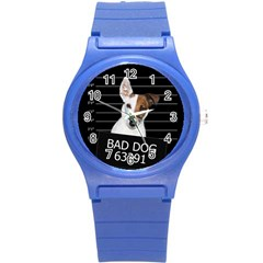 Bad Dog Round Plastic Sport Watch (s)