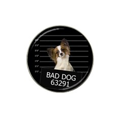 Bad Dog Hat Clip Ball Marker (10 Pack) by Valentinaart