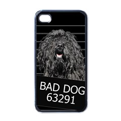Bad Dog Apple Iphone 4 Case (black) by Valentinaart