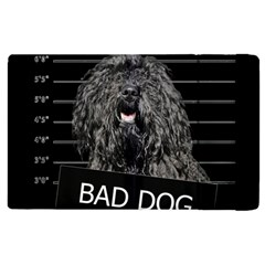 Bad Dog Apple Ipad 3/4 Flip Case by Valentinaart
