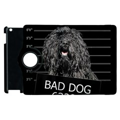 Bad Dog Apple Ipad 2 Flip 360 Case by Valentinaart