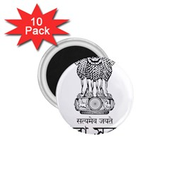Seal Of Indian State Of Tripura 1 75  Magnets (10 Pack)  by abbeyz71