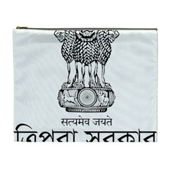 Seal Of Indian State Of Tripura Cosmetic Bag (xl) by abbeyz71
