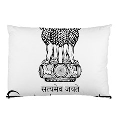 Seal Of Indian State Of Tripura Pillow Case (two Sides) by abbeyz71