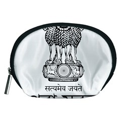 Seal Of Indian State Of Tripura Accessory Pouches (medium)  by abbeyz71