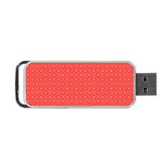 Decorative Retro Hearts Pattern  Portable Usb Flash (one Side)