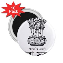 Seal Of Indian State Of Tripura 2 25  Magnets (10 Pack)  by abbeyz71