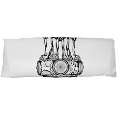 Seal Of Indian State Of Tripura Body Pillow Case (dakimakura) by abbeyz71
