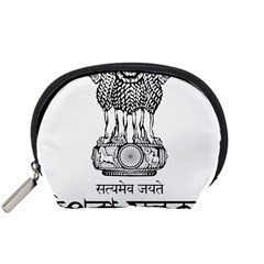 Seal Of Indian State Of Tripura Accessory Pouches (small)  by abbeyz71