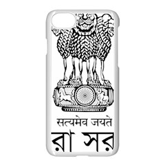 Seal Of Indian State Of Tripura Apple Iphone 7 Seamless Case (white) by abbeyz71