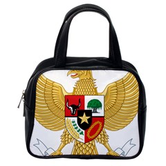 National Emblem Of Indonesia  Classic Handbags (one Side) by abbeyz71