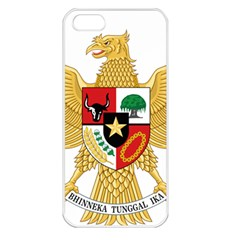 National Emblem Of Indonesia  Apple Iphone 5 Seamless Case (white) by abbeyz71
