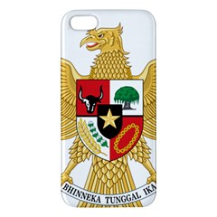 National Emblem Of Indonesia  Apple Iphone 5 Premium Hardshell Case by abbeyz71