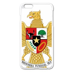 National Emblem Of Indonesia  Apple Iphone 6 Plus/6s Plus Enamel White Case by abbeyz71