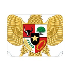 National Emblem Of Indonesia  Double Sided Flano Blanket (mini)  by abbeyz71