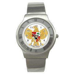 National Emblem Of Indonesia  Stainless Steel Watch by abbeyz71