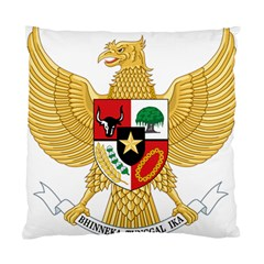 National Emblem Of Indonesia  Standard Cushion Case (two Sides) by abbeyz71