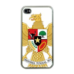 National Emblem Of Indonesia  Apple Iphone 4 Case (clear) by abbeyz71