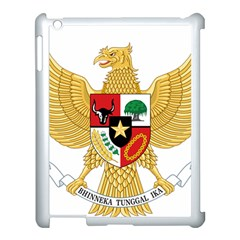 National Emblem Of Indonesia  Apple Ipad 3/4 Case (white) by abbeyz71