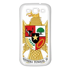 National Emblem Of Indonesia  Samsung Galaxy S3 Back Case (white) by abbeyz71