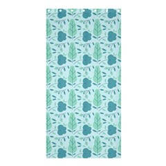 Flowers And Leaves Pattern Shower Curtain 36  X 72  (stall)  by TastefulDesigns