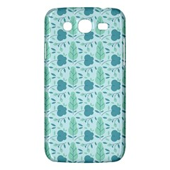 Flowers And Leaves Pattern Samsung Galaxy Mega 5 8 I9152 Hardshell Case  by TastefulDesigns