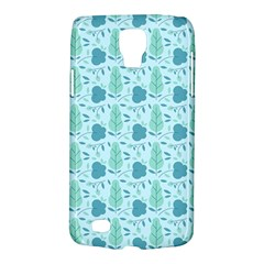 Flowers And Leaves Pattern Galaxy S4 Active by TastefulDesigns