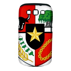 Shield Of National Emblem Of Indonesia Samsung Galaxy S Iii Classic Hardshell Case (pc+silicone) by abbeyz71