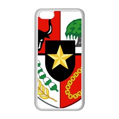 Shield Of National Emblem Of Indonesia Apple Iphone 5c Seamless Case (white) by abbeyz71