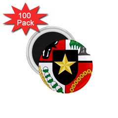 Shield Of National Emblem Of Indonesia  1 75  Magnets (100 Pack)  by abbeyz71