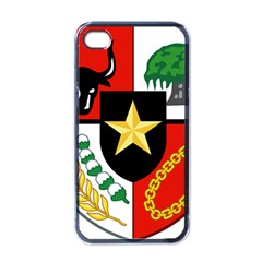 Shield Of National Emblem Of Indonesia  Apple Iphone 4 Case (black) by abbeyz71