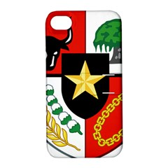 Shield Of National Emblem Of Indonesia  Apple Iphone 4/4s Hardshell Case With Stand by abbeyz71