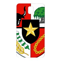 Shield Of National Emblem Of Indonesia  Samsung Galaxy Note 3 N9005 Hardshell Back Case by abbeyz71