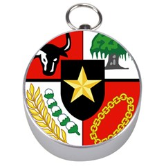 Shield Of National Emblem Of Indonesia  Silver Compasses by abbeyz71