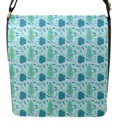 Seamless Floral Background  Flap Messenger Bag (s) by TastefulDesigns