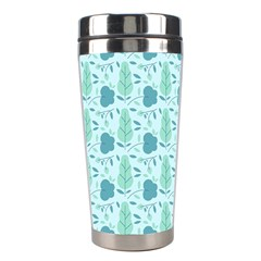 Seamless Floral Background  Stainless Steel Travel Tumblers by TastefulDesigns