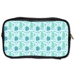 Seamless Floral Background  Toiletries Bags