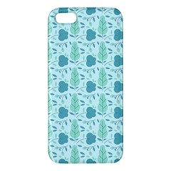 Seamless Floral Background  Apple Iphone 5 Premium Hardshell Case by TastefulDesigns