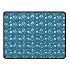 Seamless Floral Background  Fleece Blanket (small)