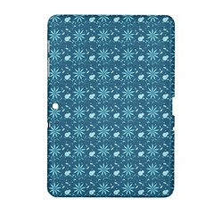 Seamless Floral Background  Samsung Galaxy Tab 2 (10 1 ) P5100 Hardshell Case  by TastefulDesigns
