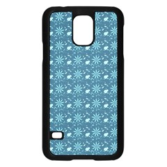 Seamless Floral Background  Samsung Galaxy S5 Case (black) by TastefulDesigns