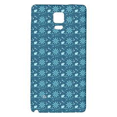 Seamless Floral Background  Galaxy Note 4 Back Case by TastefulDesigns