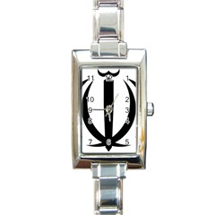 Emblem Of Iran Rectangle Italian Charm Watch by abbeyz71