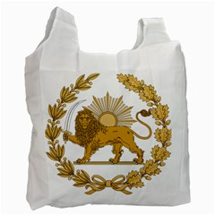 Lion & Sun Emblem Of Persia (iran) Recycle Bag (one Side) by abbeyz71
