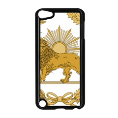 Lion & Sun Emblem Of Persia (iran) Apple Ipod Touch 5 Case (black) by abbeyz71